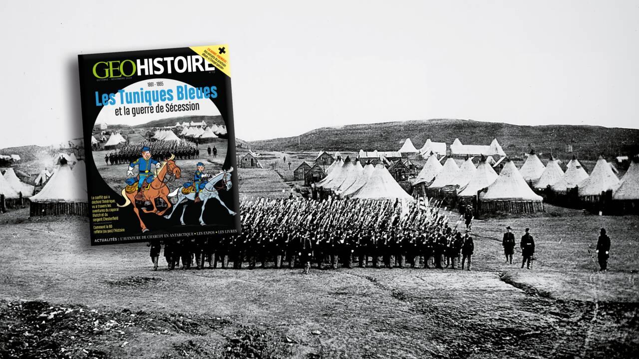 Les Tuniques Bleues et la guerre de Sécession au sommaire de GEO Histoire