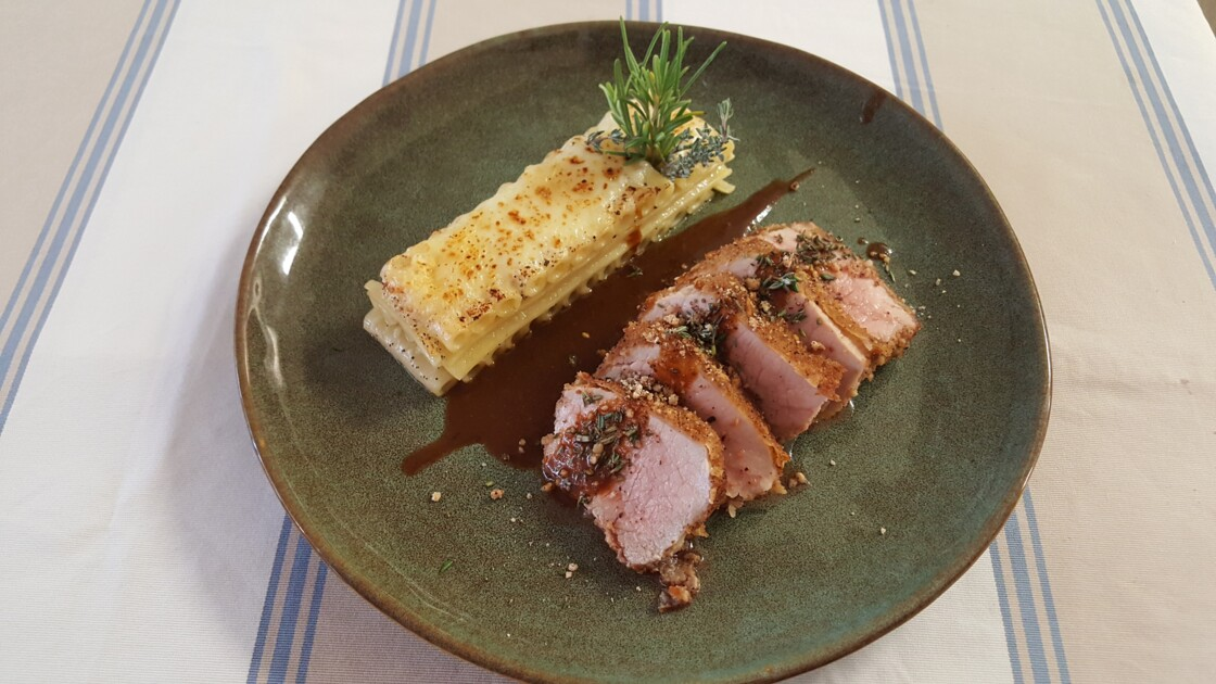 Bonifacio : la recette du veau tigré corse pané au salinu, un plat savoureux à découvrir