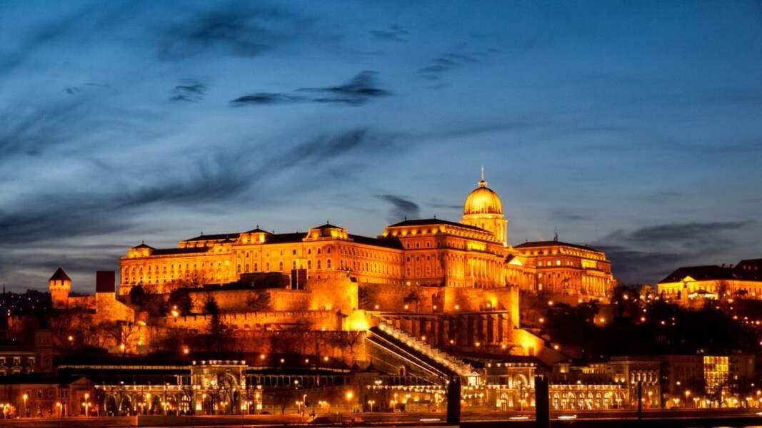 Château de Buda de nuit