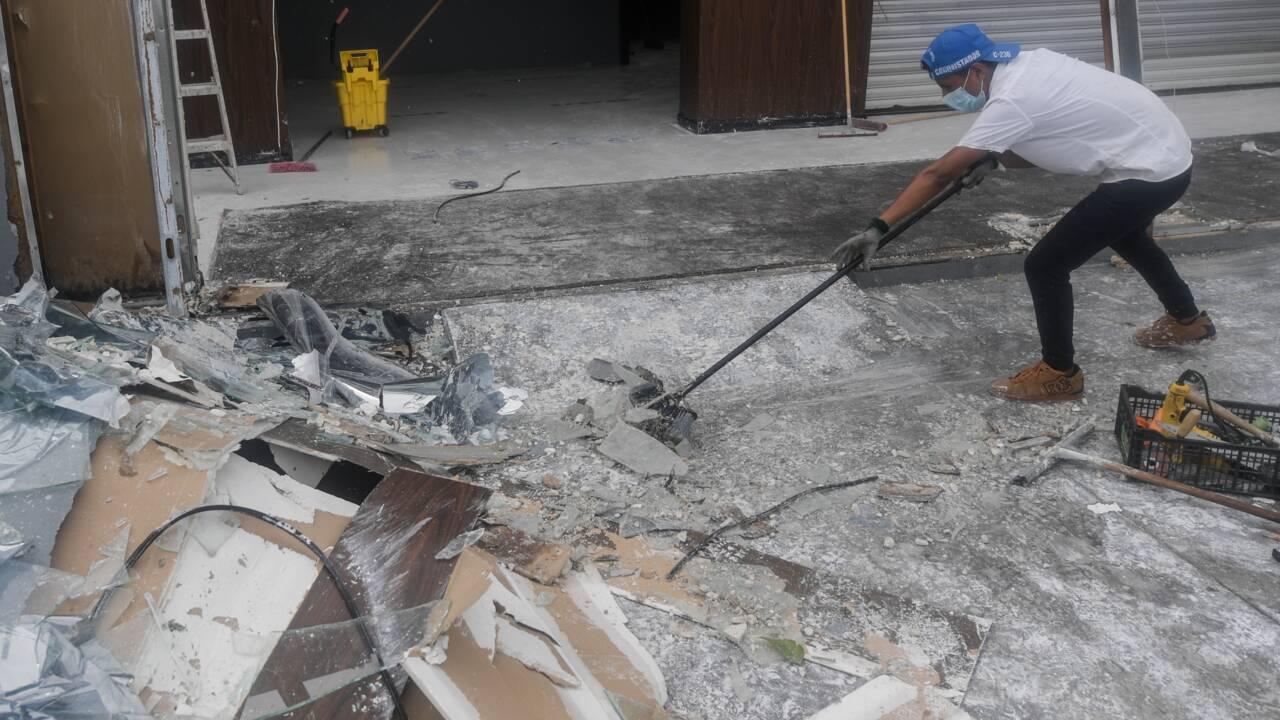 L'ouragan Delta s'éloigne du Mexique en direction des Etats-Unis