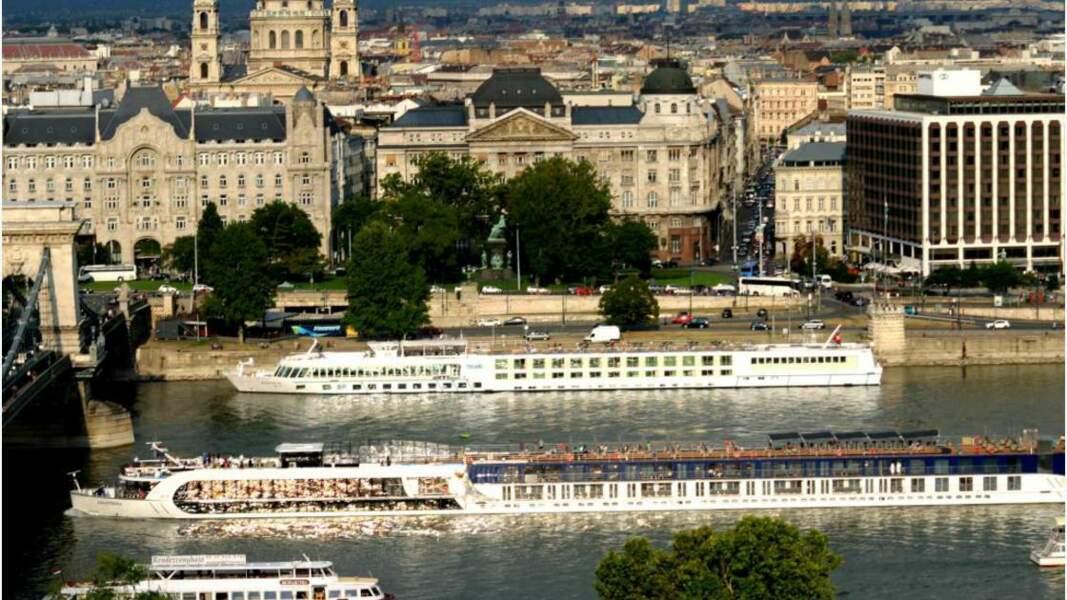 Trafic sur le Danube
