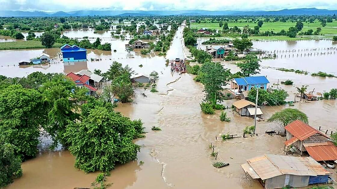 Inondations au Vietnam et au Cambodge: sept morts, des milliers d'évacués