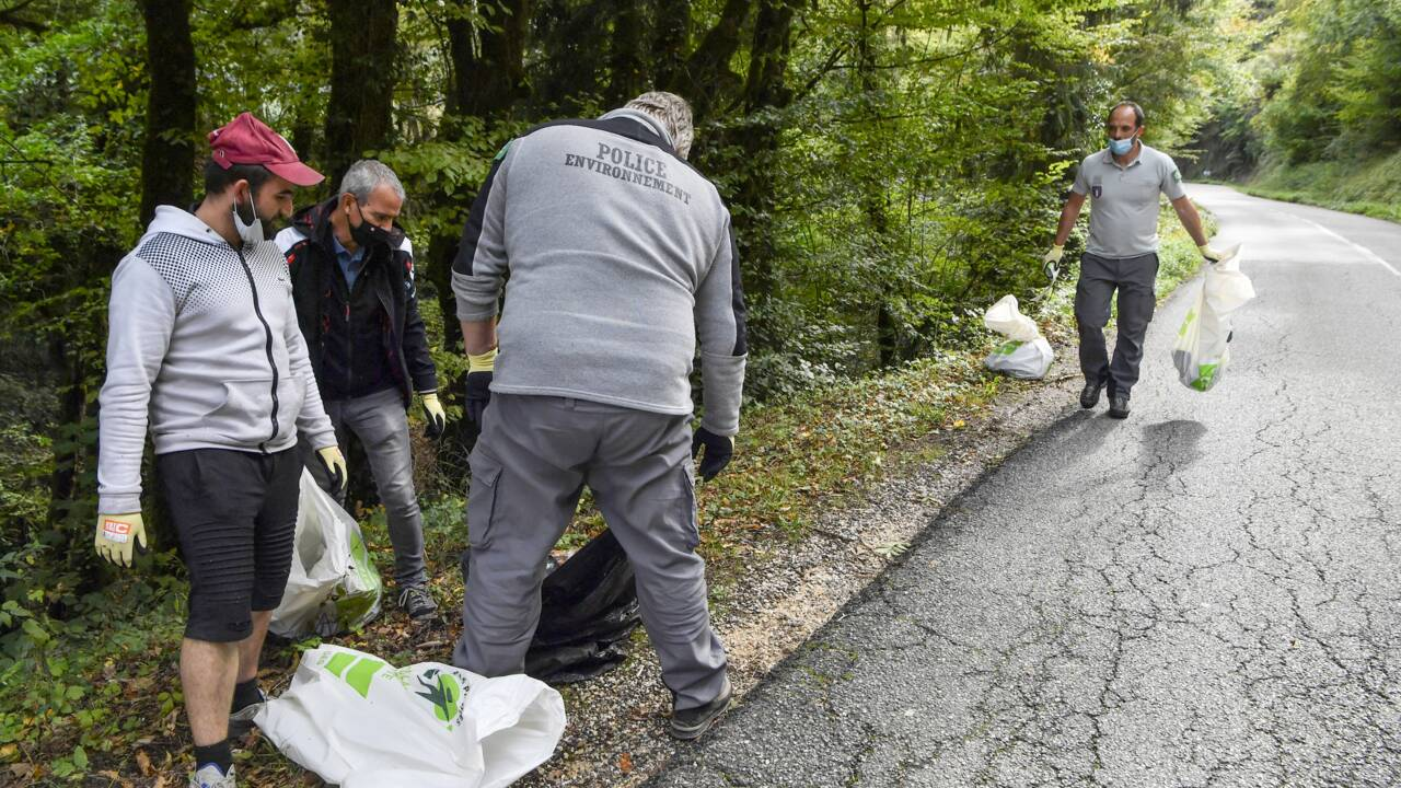 En Savoie, leçon de citoyenneté pour les auteurs d'infractions environnementales