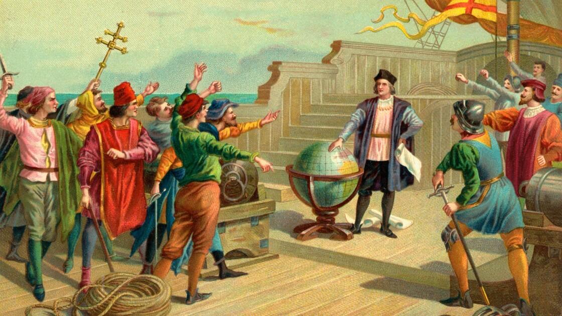 Une statue de Christophe Colomb retirée à Mexico