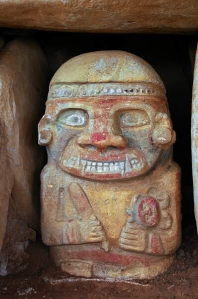 Un oppressant culte des morts s'imposa à San Augustin, en Colombie, jusqu'au IXe siècle