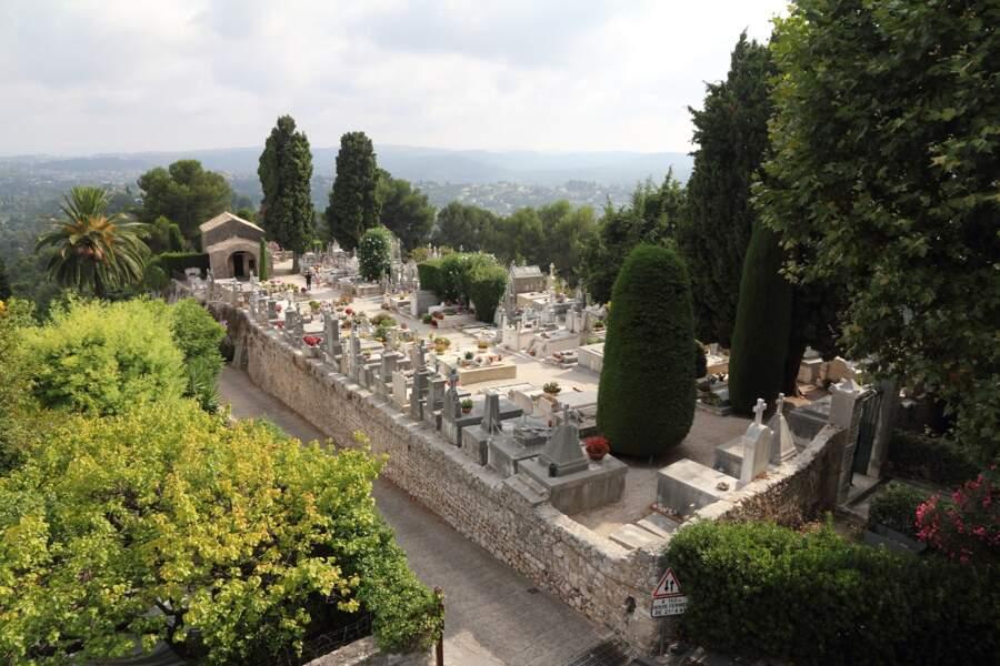 Le cimetière de Saint-Paul-de-Vence