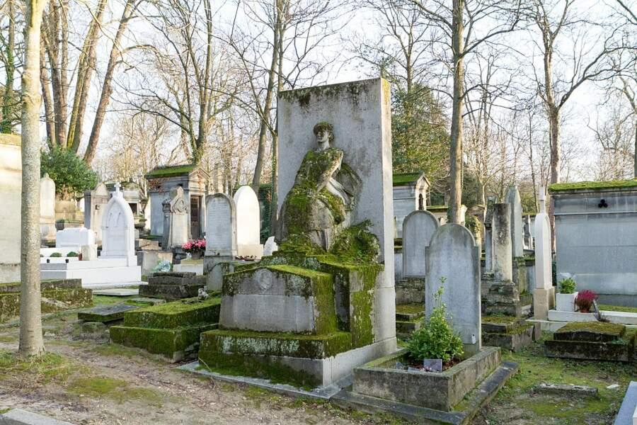 Le cimetière du Père-Lachaise, à Paris