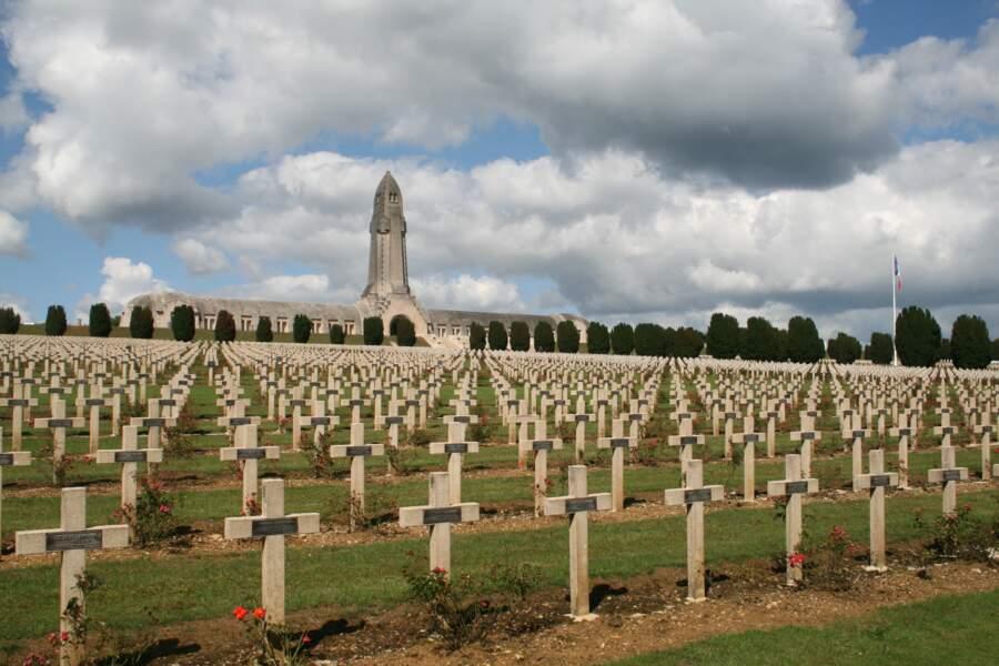 Le cimetière de Fleury, dans la Meuse