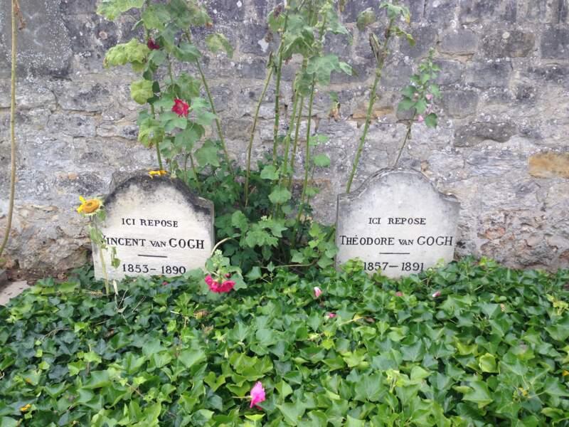 Le cimetière d'Auvers-sur-Oise
