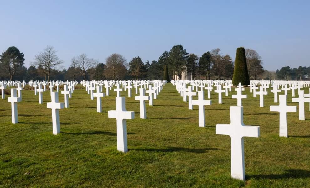 Le cimetière américain de Colleville-sur-Mer