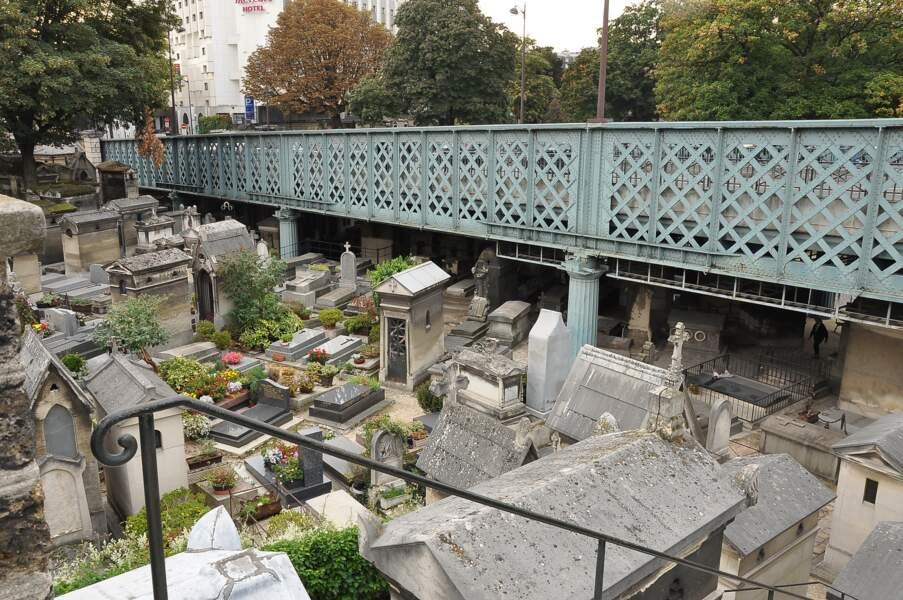 Le cimetière de Montmartre, à Paris