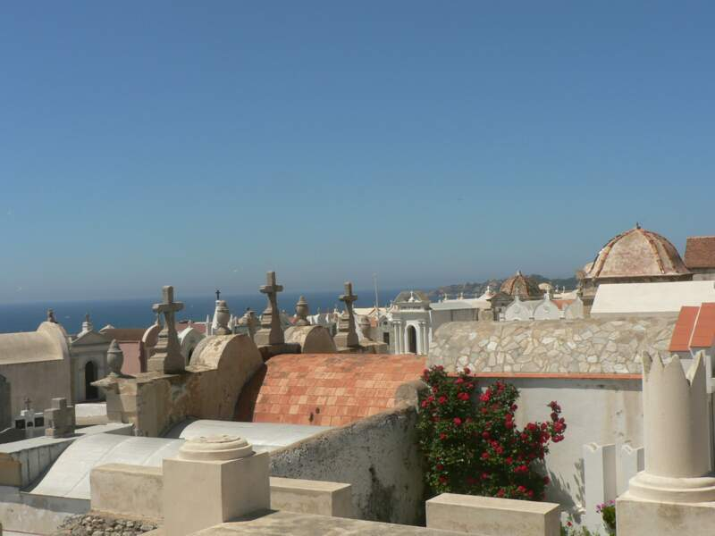 Le cimetière marin de San Franzé, à Bonifacio