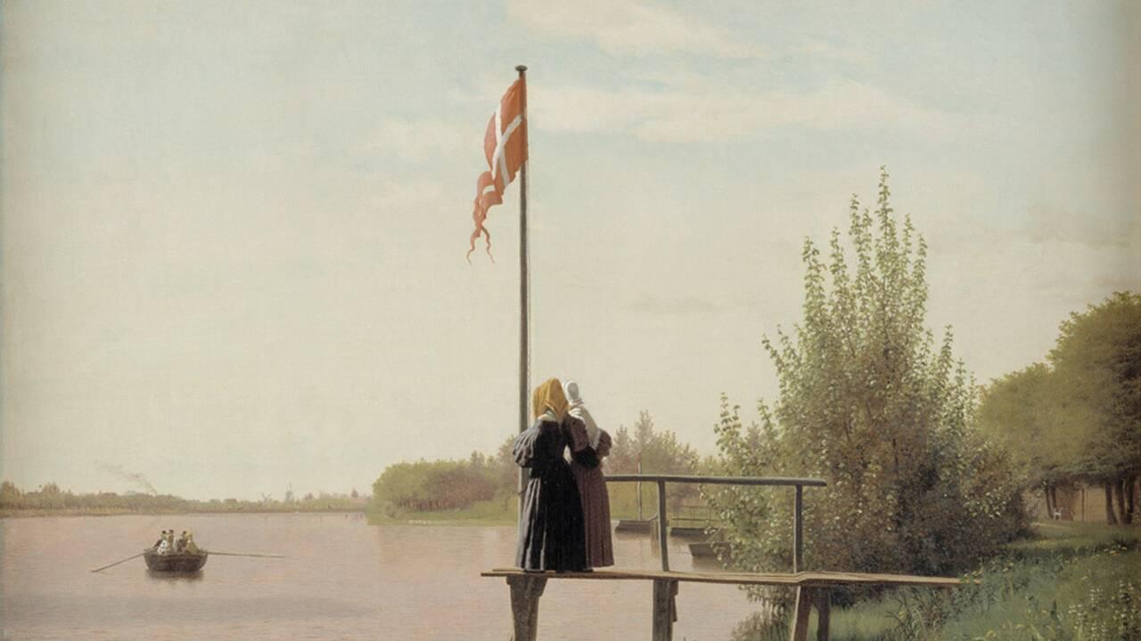 """""""L'âge d'or"""" de la peinture danoise exposé au Petit Palais : vraie guerre et fausse paix"""