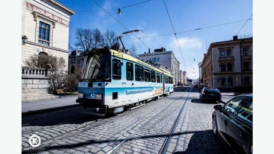 Tramway d'Helsinki