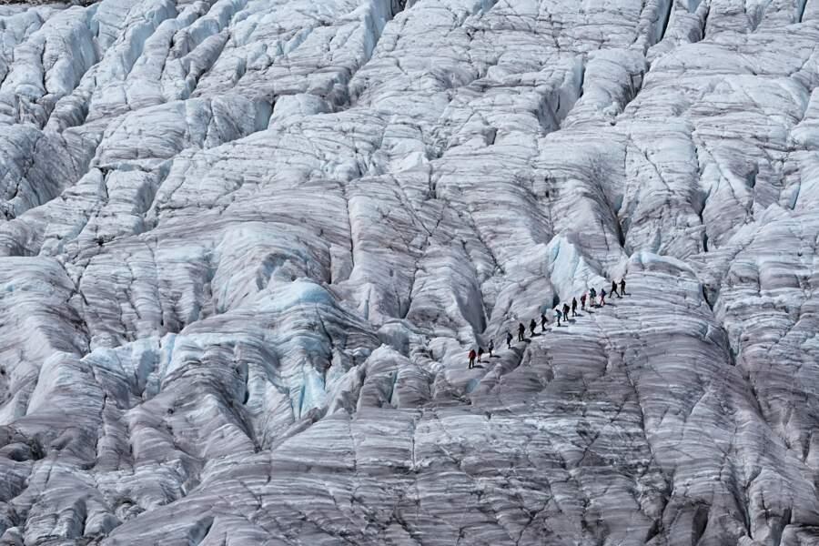 Un glacier en danger