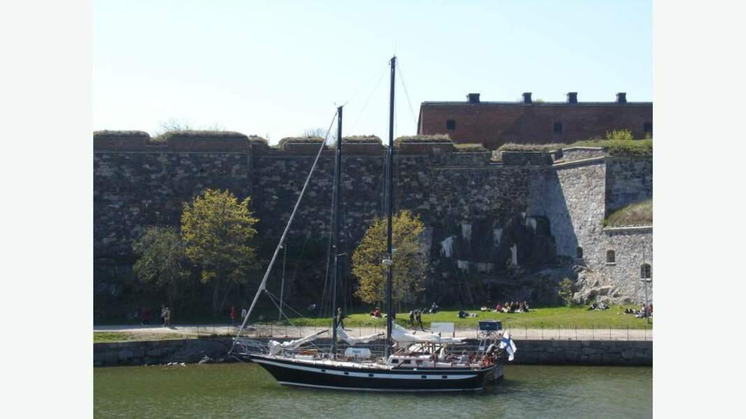 Suomenlinna, forteresse maritime construite sur l'archipel des six îles d'Helsinki