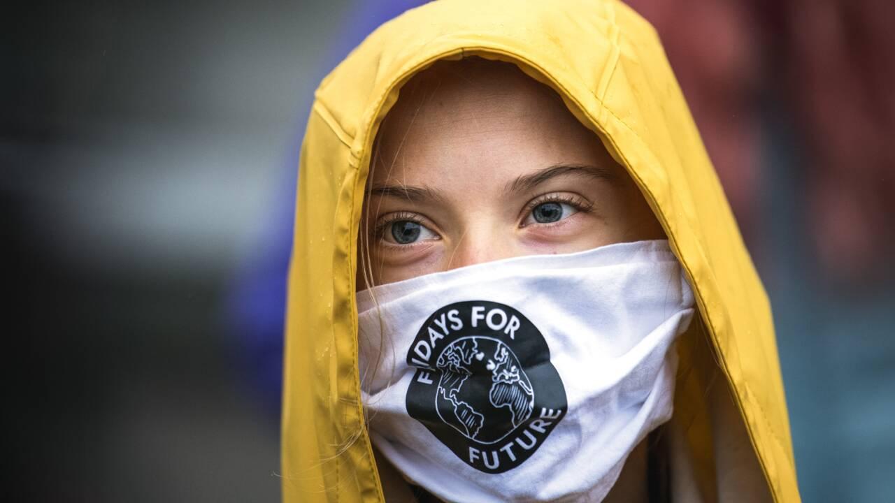 """Climat: Greta Thunberg appelle Macron et l'UE à faire """"autant que possible"""""""
