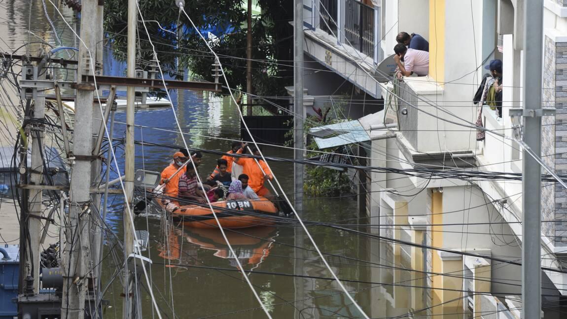 Inde: de fortes pluies font au moins 30 morts dans le Sud