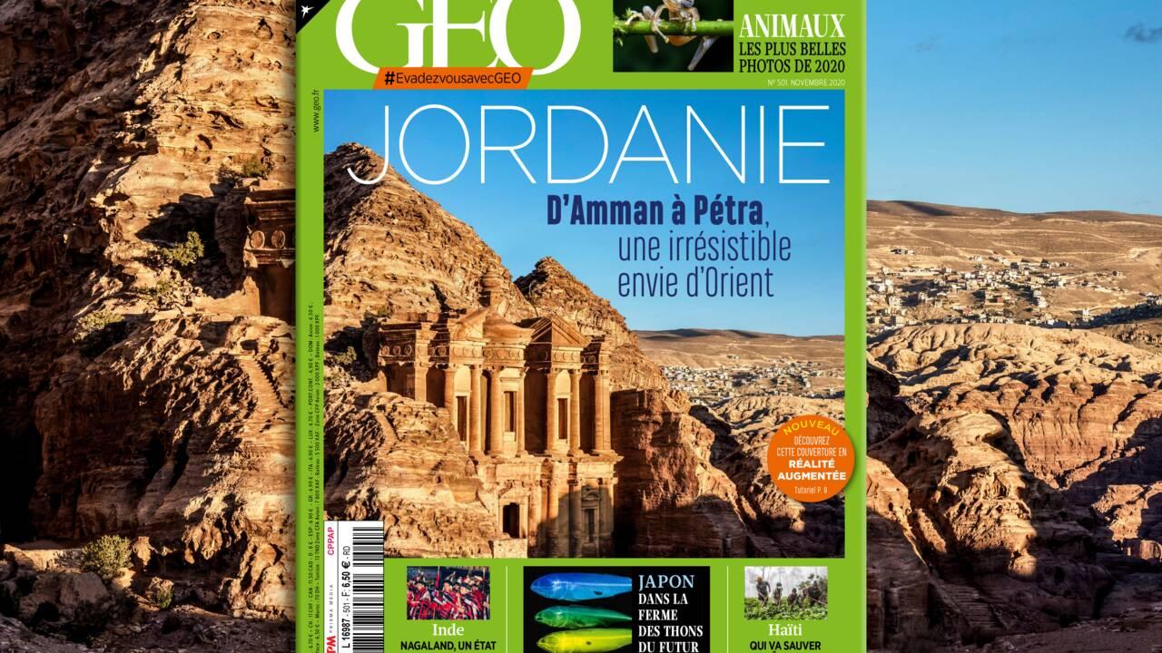 D'Amman à Pétra, la Jordanie au sommaire du nouveau numéro de GEO