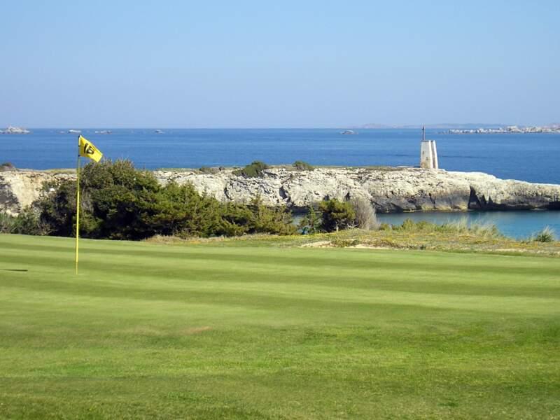 Le golf de Spérone, en Corse
