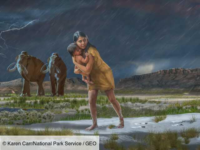 Des empreintes fossiles dévoilent une fascinante histoire vieille de 10000 ans