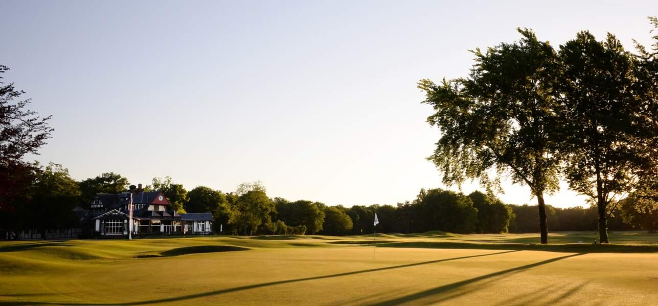 Le golf de Chantilly (Vineuil-Saint-Firmin), dans l'Oise