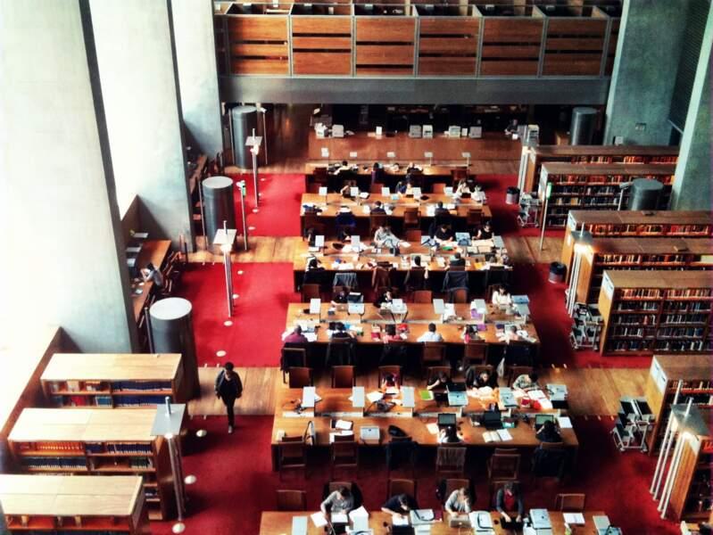 La BNF François Mitterrand, à Paris