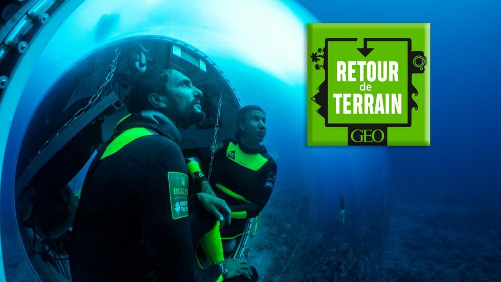 Podcast : en Polynésie avec ces plongeurs hors norme qui ont campé sous la mer