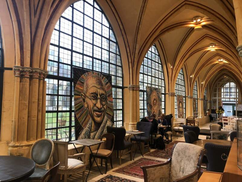 La bibliothèque Saint-Corneille, à Compiègne