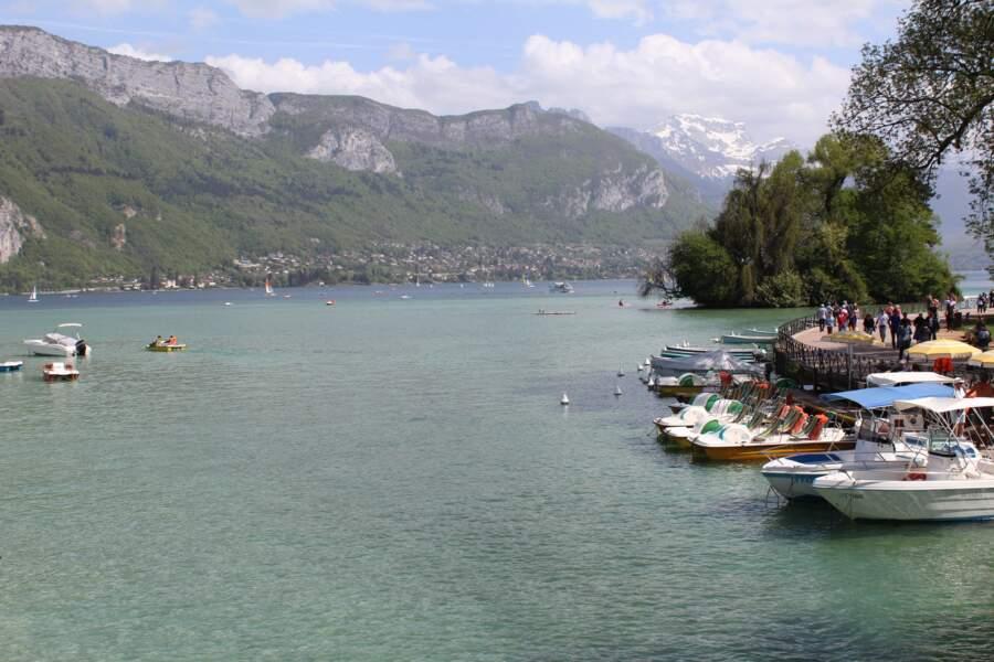 Le tour du lac d'Annecy, en Haute-Savoie