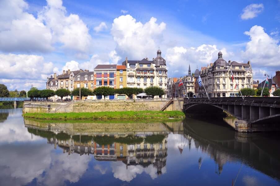 L'EuroVelo 19 le long de la Meuse