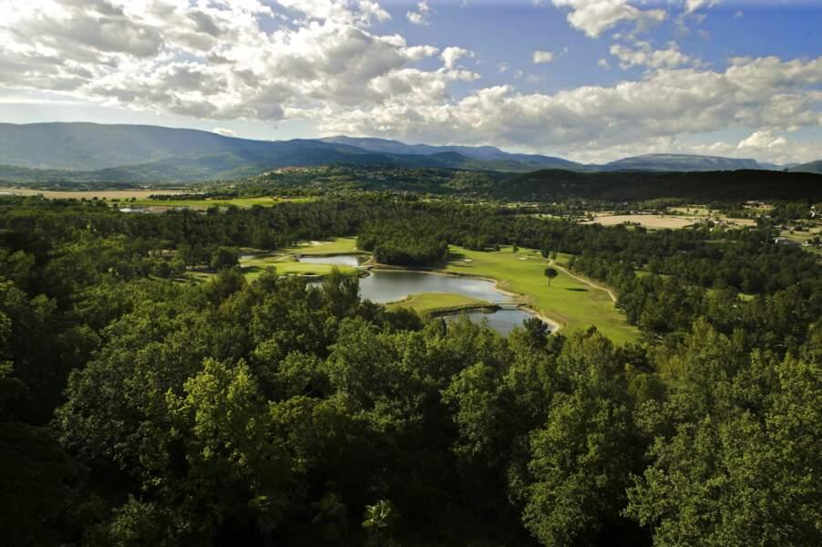 Le golf de Terre Blanche, dans le Var