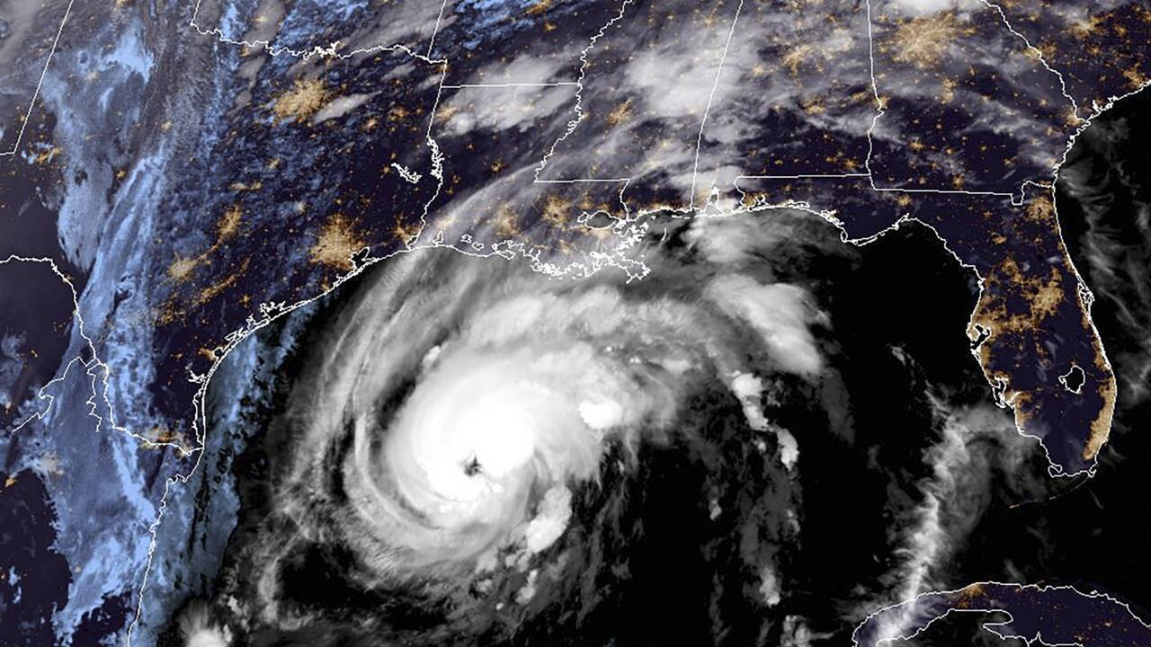 L'ouragan Zeta a touché terre près de La Nouvelle-Orléans, en Louisiane
