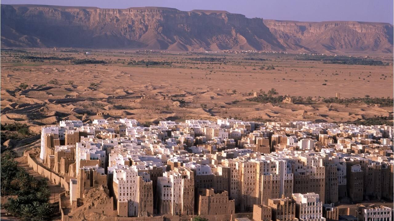 """Au Yémen, le """"Manhattan du désert"""" menacé par les catastrophes naturelles"""