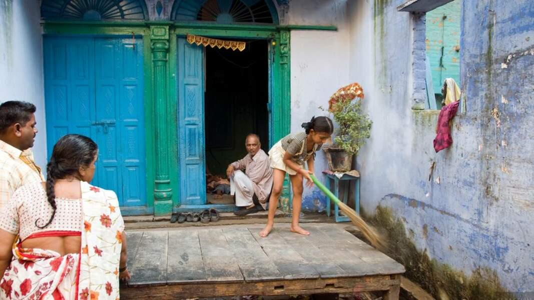 Scène de rue à Delhi