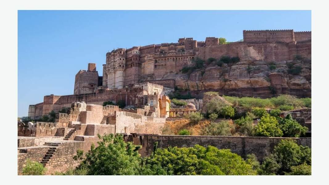 Fort de Mehrangarh à Jodhpur