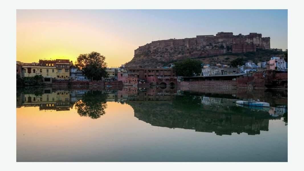 Coucher de soleil sur Jodhpur
