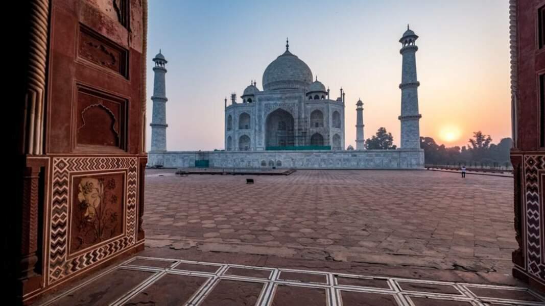 Le Taj Mahal, monument emblématique du pays