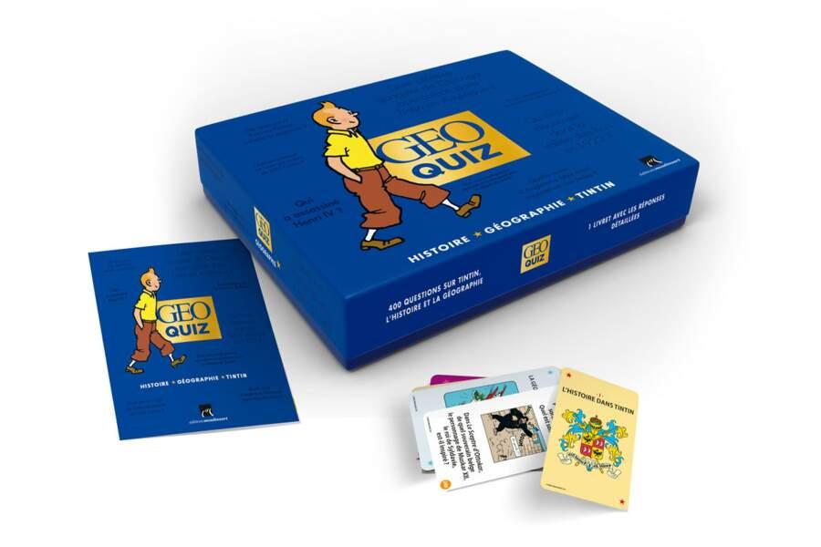 Boîte GEO quiz - Tintin