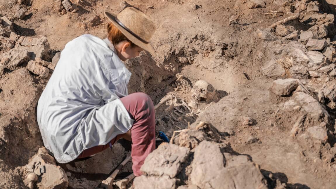 """En Allemagne, découverte de la """"dame de Bietikow"""", âgée de plus de 5.000 ans"""