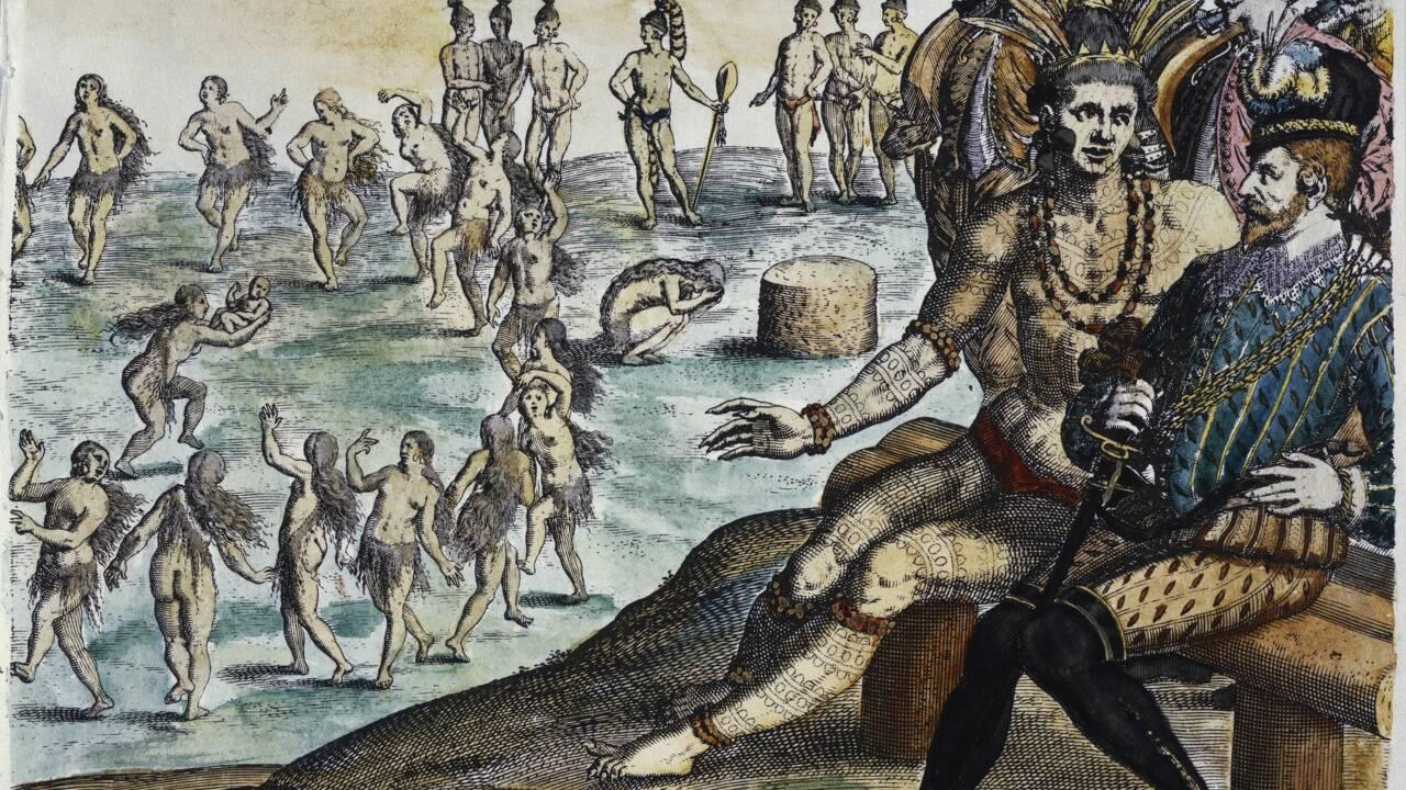 """""""Conquista"""" et controverse """"de Valladolid"""" : ces millions d'Amérindiens réduits en esclavage"""