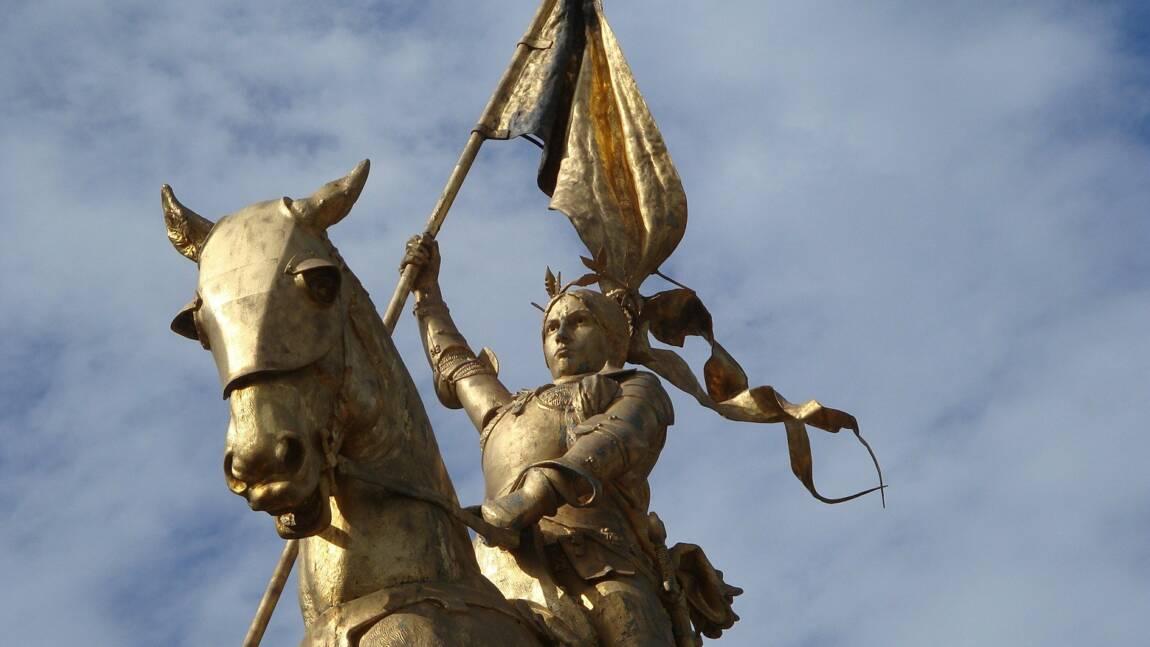 Jeanne d'Arc, la pucelle d'Orléans sur le bûcher