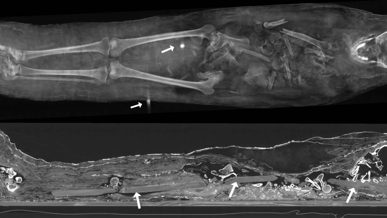 Des archéologues percent les secrets de momies égyptiennes exhumées il y a 400 ans