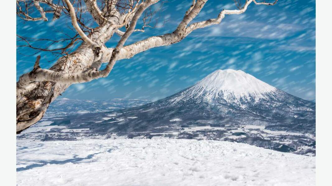 Le mont Niseko, île d'Hokkaidō