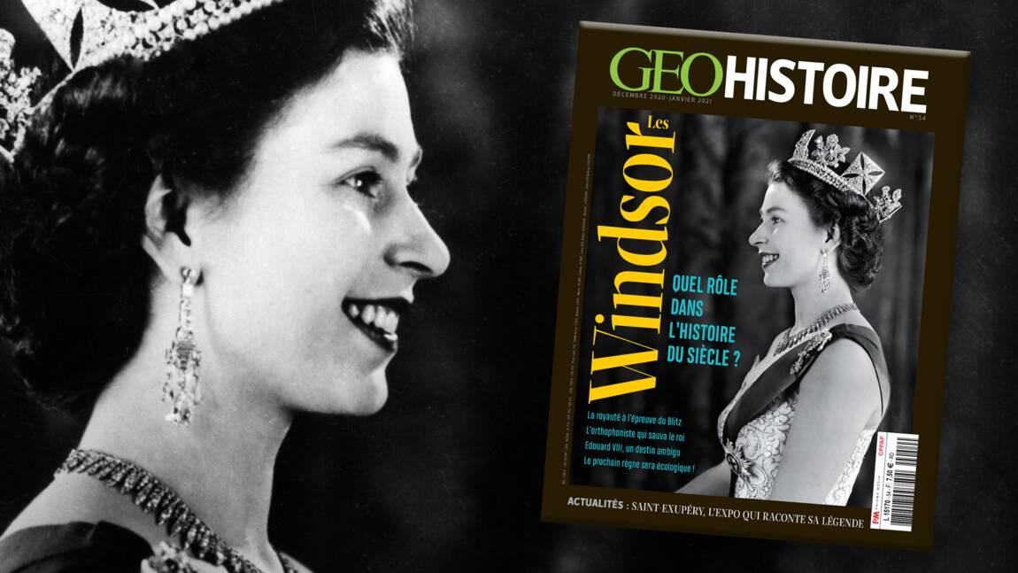 Les Windsor au sommaire du nouveau numéro de GEO Histoire