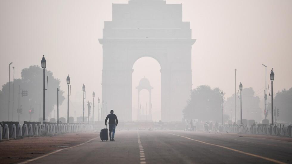 New Delhi se réveille dans un nuage de pollution après Diwali