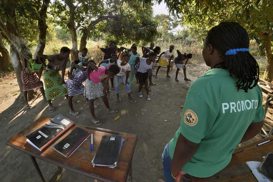 Les « Girls Club », une action phare du programme d'éducation de Gorongosa