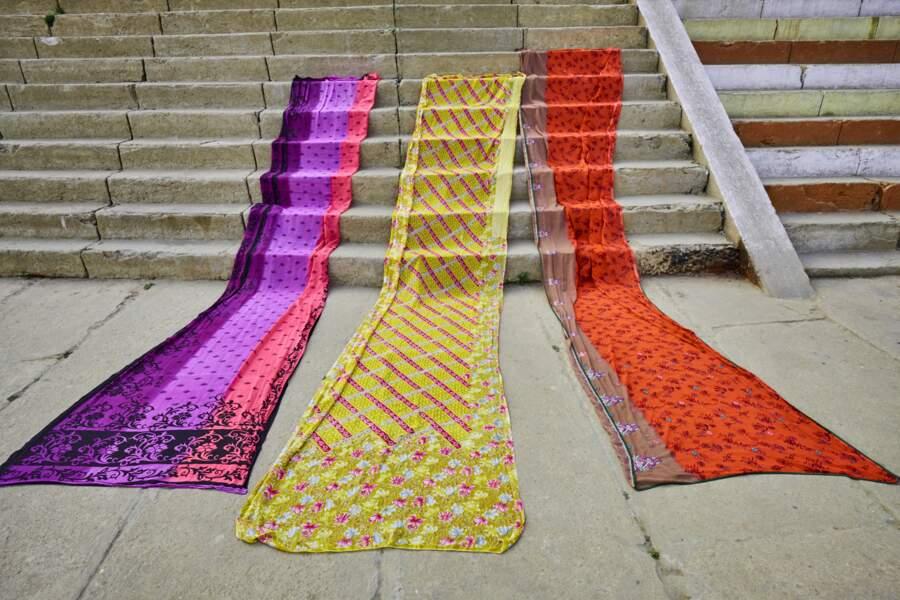 La soie de Varanasi