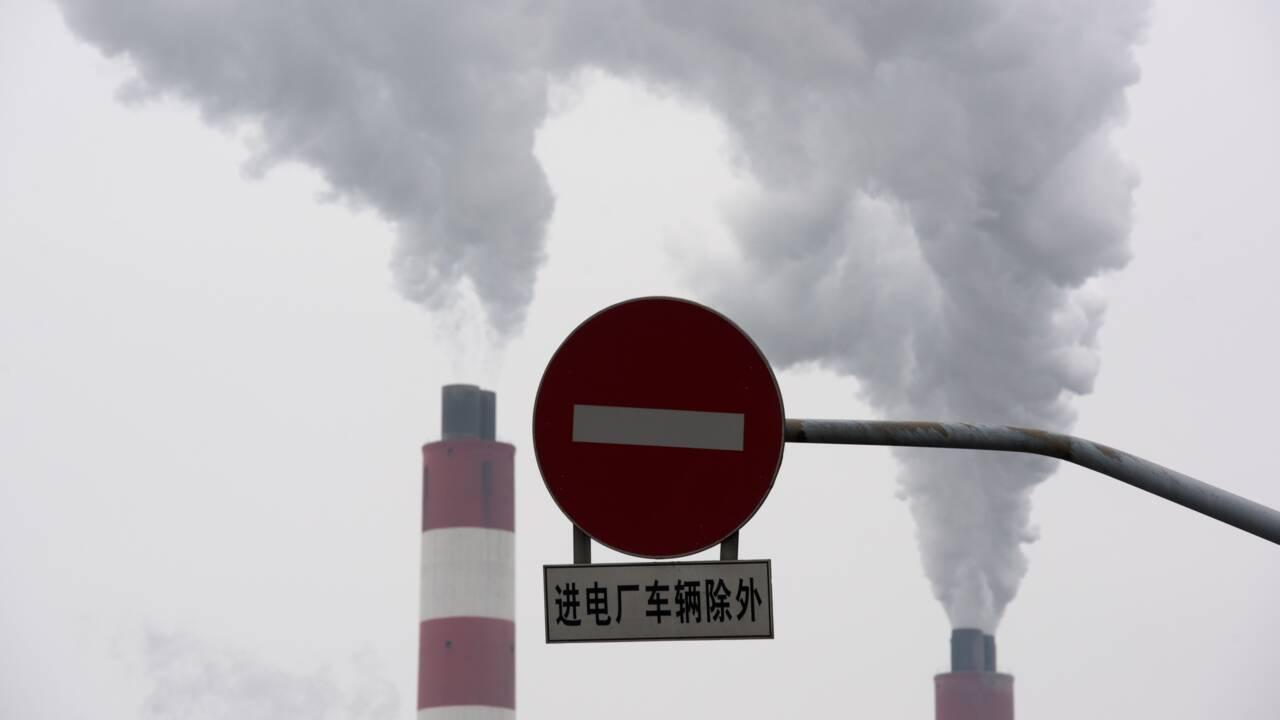 """Chine: la """"neutralité carbone"""" prévue pour 2060 déjà menacée ?"""