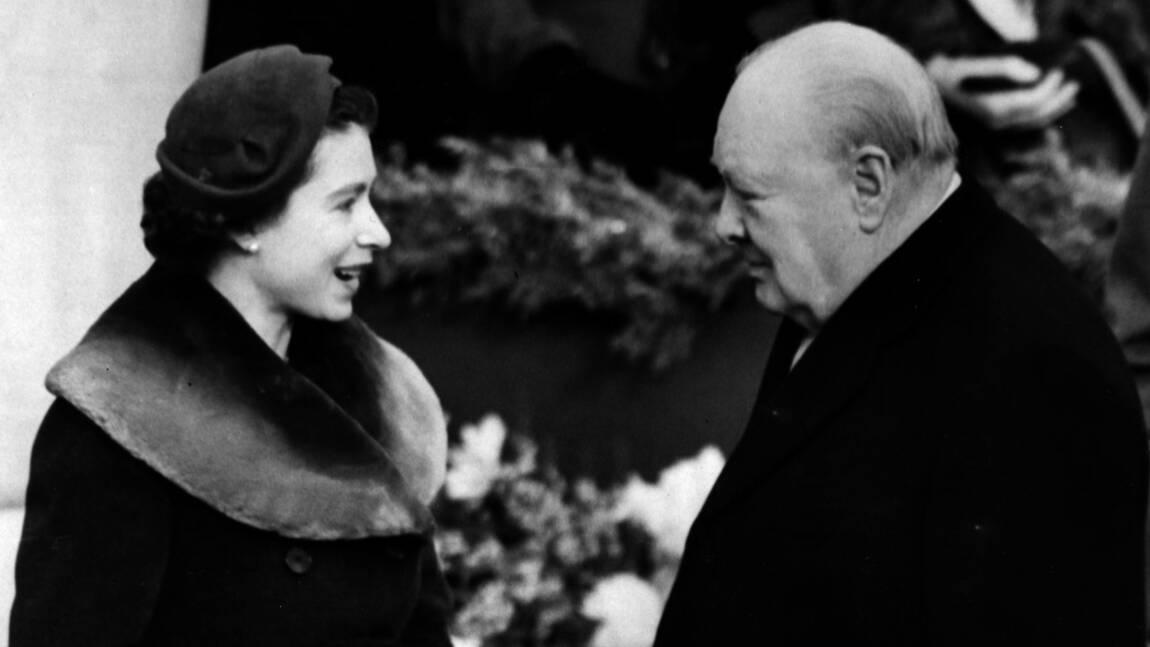 """""""Churchill est tombé sous le charme d'Elisabeth II"""""""